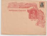 Germania, 1913, 30 Pfg- Jubiläums- GS- Umschlag, ungebraucht