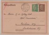 DR, 1934, 55 Rpfg. - Rohrpost- GS, gelaufen innerhalb Berlin´s