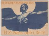 Weimar, 1925, Mi.- Nr. 345 als EF auf Postkarte zum BZ- Preis der Lüfte, 1925, von Berlin nach Liegnitz, Hochdekorativ!