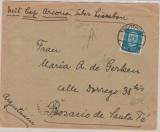 Weimar, 1931, Mi.- Nr. 416 als EF auf Schiffspostbrief, von Buxtehude via Lissabon nach Argentinien, mit der Cap Arcona