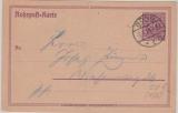 Infla / Weimar, 1926, Mi.- Nr.: RP 22, mit rs. Formularvordruck, verwendet vom Postamt in Bonn, kurios!!!