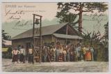 Kamerun, 1904, Mi.- Nr.: 8, als EF auf Bildpostkarte von DUALA nach Halle