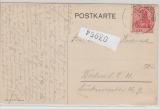 Deutsche Seepost Ost- Afrikanische- Hauptlinie, 1913, s, auf Postkarte nach Berlin, bildseitig gute Werbepostkarte!