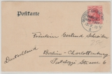 Deutsch-Amerik. Seepost, 1, 1910, auf netter Werbepostkarte nach Berlin