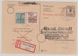35x + 38yb als Zusatz- MiF auf MVP- GS Nr. 1, als Einschreiben von Crivitz nach Dresden, tiefstgeprüft Kramp BPP