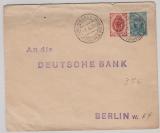 Russland, 1904, 7 Kopeken- GS- Umschlag + 3 Kopeken als Zusatzfrankatur, als Auslandsbrief von Moskau nach Berlin