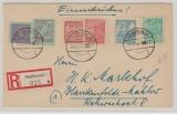 39 ya u.a. in MiF auf E. Brief von Greifswald nach Blankenfelde- Mahlow, tiefstgeprüft Kramp BPP