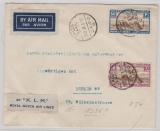 Ägypten, 1936, 40 Mills MiF auf Auslands- Lupobrief von Cairo nach Berlin