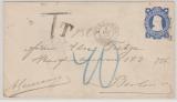 Chile, 1904, 5 Centimos - GS- Umschlag, als Auslandsbrief gelaufen von Victoria nach Berlin, mit Nachporto belegt!