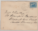 Australien / Western Australia, 1894, 2,5 Pence EF auf Auslandsbrief von Perth nach South... (GB)