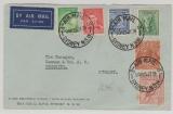 Australien, 1938, 21 d. MiF auf Auslands- Lupobrief von Sydney nach Chemnitz (D.)