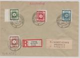 42A, 43 DI, 46 DI+ 48 DI, in MiF auf E.- Brief von Coswig nach Dresden, tiefstgeprüft, Zierer BPP