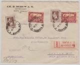 Bulgarien, 1930, 12 Leva als MiF auf Auslands- Einschreiben von Sofia nach Berlin