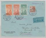 Dänemark, 1940, 70 Öre MiF auf Auslands- Luftpostbrief von Gilleleje nach Berlin, rs. mit Dt. Zensur