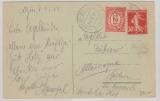 Algerien, 1924, MiF Frankreich / Niederlande auf Schiffspostbrief von Algier nach Berlin, via Schiffspostlinie Amsterdam- Batavia
