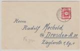 46 Fa, EF auf Fernbrief von Klotzsche nach Dresden, tiefstgeprüft Dr. Jasch BPP!