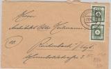 43 BIIa in MeF auf Brief von Dresden nach Reichenbach