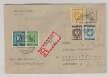 42 A (2x) + 118 X (4x) zus. auf E.- Brief von Chemnitz nach Dittersbach, Sign. Rehfeld