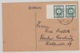 43 BIIb als MeF auf Fernpostkarte von Löbau nach Dresden