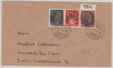 AP 781, 786 + 789 als MiF Fernbrief von Lugau nach Gersdorf