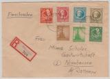 92 u.a. auf Ausgaben MiF- E. Brief von Orlamünde nach Nennhausen