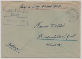 D. Dt. Dienstpost Elsaß, 1940, Brief von Kolmar nach Haidershofen