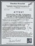 Germania, 1902, Mi.- Nr.: 47, 56a POR + 75 POR B als MiF auf Auslands-Wertbrief von Lobstädt nach Prag, FA Kroschel, VPEX