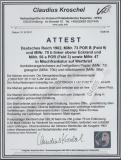 Germania, 1902, Mi.- Nr.: 47, 56a POR, 70 POR + 73 POR B als MiF auf Fern- Wertbrief von Lobstädt nach Göttingen, FA Kroschel, VPEX