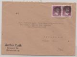 Mi.- Nr.: AP 785a I (2x) als MeF auf Fernbrief von Limbach nach Dresden