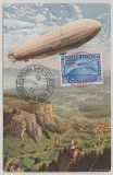 Weimar, 1931, Mi.- Nr.: 457 (rs.) als Zusatzfrankatur auf Zeppelin- Privat- GS, von ... nach Pernambuco, Brasilien. Bildschön!