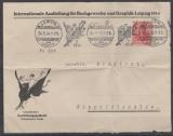 DR, 1914, Mi.- Nr.: 86 Id als EF auf Fernbrief von Leipzig nach Dippoldiswalde, schöner werbebrief, aktuelles FA Kroschel VPEX