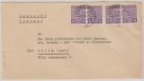 69 Xb (4x), Mef- Fernbrief von Magdeburg nach Halle, geprüft Ströh BPP