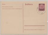 GG, 1940, !5 Pfg. Auslands- GS mit 30 Groschen- Überdruck (Mi.- Nr.: P2 II), gefälligkeitsgestempelt