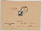 Zeppelin, 1936, Mi.- Nr.: 537 als EF auf Brief, von / nach Graz (A)