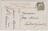 DSWA, 1912, Mi.- Nr.: 25 als EF auf Ansichtskarte von Keetmanshoop nach Lüderitzbucht