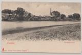 Tientsin, Ansichtskarte der Zündholzfabrik, ungelaufen