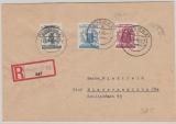 149, u.a. ala Ausgabengleiche MiF, auf E.- Fernbrief von Leipzig nach Niedersedlitz