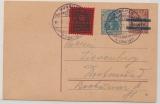 DR, Infla, GS (Mi.- Nr.: 133) gebraucht von München nach Dortmund, mit Stempel Briefmarken- Hdl. Tag...