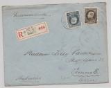 Belgien, 1925 (?), 1,5 Fr. MiF auf Auslands- Einschreiben von Ixelles Elsene nach Wien