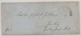 Bergedorf, 1865 (?), unfrankierter Brief von Bergedorf nach Hamburg