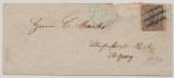 Hamburg, 1867, Mi.- Nr.: 10 als EF auf Ortsbrief nach St. Georg