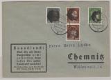 Mi.- Nr.: AP 781 I, AP 782 I (2x) + AP 784 I als MiF auf Ortsbrief innerhalb von Chemnitz