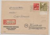 Berlin, 1948, Mi.- Nr.: 3 + 17 als MiF auf Einschreiben- Fernbrief von Berlin nach Bückeburg! Nette Portostufe und MiF!