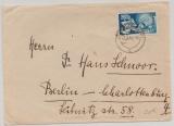Saarland, 1950, Mi.- Nr.: 297 als EF auf Fernbrief von Ottweiler nach Berlin