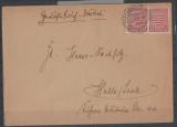 SBZ, 1946, Mi.- Nr. 79 Y b (!) 2x (!!!) als MeF auf Fernbrief von Blankenburg nach Halle / S., Top- Rarität, mit FA Schulz BPP e+e!!!