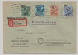 41 Chemnitz, 172, 73 , 74 + 178 X als MiF auf E.- Fernbrief (Aus dem Briefkasten!) von Chemnitz nach Marienberg