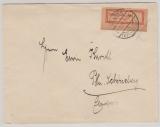 Infla / Dt. Lokalausgaben, 1923, Halle, Mi.- Nr.: 2 IIb, als EF auf Fernbrief von Kelbra nach Berlin, sehr selten!!!