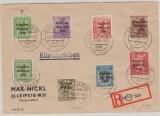 200- 206 zusammen auf Satz- E. Brief, innerhalb Leipzigs