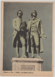 235 als EF, von Weimar nach Quedlienburg, Pk anlaßbezogenes Bild (Goethe) entwertet mit seltenem Goethestempel!