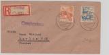 Cottbus Nr. 3 + 16 als MiF auf E.- Brief nach Berlin